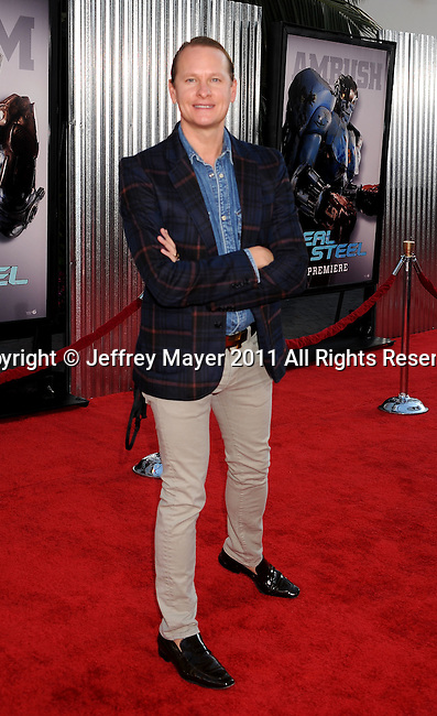 """UNIVERSAL CITY, CA - OCTOBER 02: Carson Kressley attends the """"Real Steel"""" Los Angeles Premiere at Gibson Amphitheatre on October 2, 2011 in Universal City, California."""