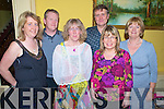 Mary O'Sullivan, David Lynch, Margot Lawlor, John Joe O'Sullivan, Sheila Hurley and Geraldine O'Sullivan pictured at the Killorglin Rowing Club dance in The Manor Inn, Killorglin on Friday night...