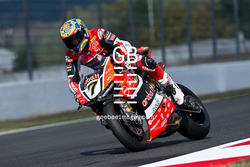 2016 FIM Superbike World Championship, Round 11, Magny Cours, France, Chaz Davies, Ducati