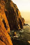Sunset at the Neahkahnie Sea Cliffs near Cannon Beach, Oregon.