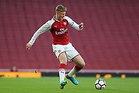 Danny Bullard of Arsenal in action during Arsenal Youth vs Blackpool Youth, FA Youth Cup Football at the Emirates Stadium on 16th April 2018