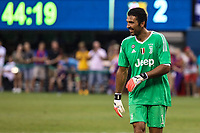 EAST RUTHERFORD, USA, 22.07.2017 - JUVENTUS-BARCELONA - Gianluigui Gigi Buffon do Barcelona durante partida contra Juventus valido pela  International Champions Cup 2017 no MetLife Stadium na cidade de East Rutherford, New Jersey. (Foto: Vanessa Carvalho/Brazil Photo Press)