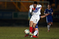 Matty Kosylo of Halifax Town and Luke Howell of Dagenham  during FC Halifax Town vs Dagenham & Redbridge, Vanarama National League Football at The Shay on 13th March 2018