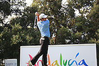 Richard Bland (ENG) during the 1st day at the  Andalucía Masters at Club de Golf Valderrama, Sotogrande, Spain. .Picture Fran Caffrey www.golffile.ie