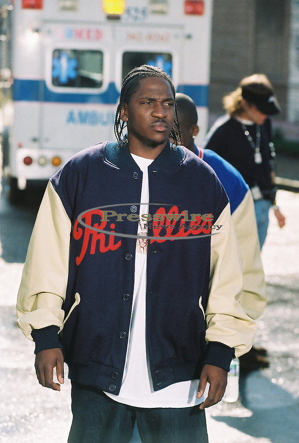 "Pusha T performing on Birdman's ""What Happened to That Boy"" video in New Orleans for Cash Money Records"