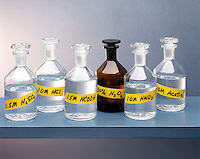 REAGENTS: ACIDS & HYDROGEN PEROXIDE<br />