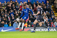 Callum Hudson-Odoi of Chelsea during the The FA Cup Fourth Round match between Chelsea and Sheffield Wednesday at Stamford Bridge, London, England on 27 January 2019. Photo by Adamo Di Loreto.<br /> <br /> Editorial use only, license required for commercial use. No use in betting, games or a single club/league/player publications.