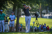 Ross Fisher (ENG) watches his tee shot on 11 during 1st round of the 100th PGA Championship at Bellerive Country Cllub, St. Louis, Missouri. 8/9/2018.<br /> Picture: Golffile | Ken Murray<br /> <br /> All photo usage must carry mandatory copyright credit (© Golffile | Ken Murray)
