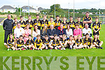 The Dr Crokes team with Colm Cooper and Coffey family at the Colm Cooper tournament in Killarney on Saturday front row l-r: Jason kerins, Neal O'Shea, Tom Doyle, Sean McGann, Jamie Doolan, Calum Neher, Evan Looney, Aaron Brennan, Harry Potts, Mark Cooper Dermot Moriarty. Middle row, Terry Potts, Mary O'Rourke, Aisling Coffey, Darina Coffey, John Coffey, Colm Cooper Catherine Coffey, Noreen Coffey, John O'Shea. Back row: James Cronin, Keith Myers, dara O'Callaghan, Eamon Long, Michael Lenihan, Gary O'Connor, Liam Kelliher, lorcan martin, Adam O'Connell, Oran O'Donoghue, Padraig Looney, Ger O'Connor, Gerard Cronin