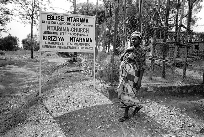 Rwanda in the aftermath of the 1994 genocide, 2002.