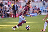 SAN JOSÉ CA - JULY 27: Sam Nicholson #28 during a Major League Soccer (MLS) match between the San Jose Earthquakes and the Colorado Rapids on July 27, 2019 at Avaya Stadium in San José, California.