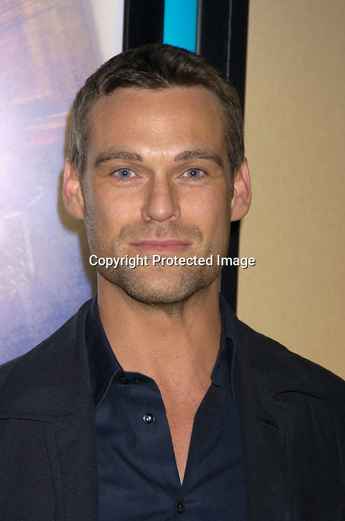 """Grayson McCouch ..at a celebrity screening of """"G5"""" a new movie starring..Grayson McCouch, Amy Locaine and Michelle Geisner on ..November 29, 2004 at the UA Battery Park City Stadium..Theatre. Photo by Robin Platzer, Twin Images"""