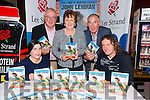 Claire O'Leary, John Lennihan, Con Dennehy and Margaret Dennehy, Weeshie Fogarty at the Book Launch of Tough as Leather John Lenihan at Gallys Bar on Friday