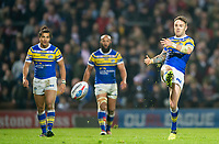 Picture by Allan McKenzie/SWpix.com - 13/04/2018 - Rugby League - Betfred Super League - Leeds Rhinos v Wigan Warriors - Headingley Carnegie Stadium, Leeds, England - Richie Myler kicks through.