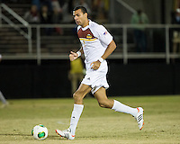 The Winthrop University Eagles beat the UNC Asheville Bulldogs 4-0 to clinch a spot in the Big South Championship tournament.  Achille Obougou (7)