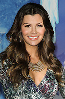 "HOLLYWOOD, CA - NOVEMBER 19: Ali Landry at the World Premiere Of Walt Disney Animation Studios' ""Frozen"" held at the El Capitan Theatre on November 19, 2013 in Hollywood, California. (Photo by David Acosta/Celebrity Monitor)"