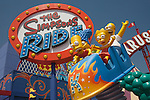 The Simpsons Ride at Universal Studios Hollywood, Universal City, CA