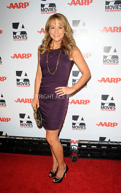 WWW.ACEPIXS.COM . . . . . ....February 7 2011, LA....Actress Megyn Price arriving at the AARP Magazine 10th Annual Movies For Grownups Awards at the Beverly Wilshire Four Seasons Hotel on February 7, 2011 in Beverly Hills, CA....Please byline: PETER WEST - ACEPIXS.COM....Ace Pictures, Inc:  ..(212) 243-8787 or (646) 679 0430..e-mail: picturedesk@acepixs.com..web: http://www.acepixs.com