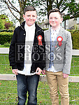 Ben Russell Meade and Ryan Piper who were confirmed in the Holy Family church Ballsgrove.