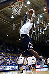 DURHAM, NC - JANUARY 29: Notre Dame's Elijah Burns. The Duke University Blue Devils hosted the University of Notre Dame Fighting Irish on January 29, 2018 at Cameron Indoor Stadium in Durham, NC in a Division I men's college basketball game. Duke won the game 88-66.