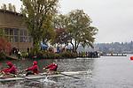 Rowing, ASUW Shell House, Head of the Lake, Regatta, November 5, 2017, Seattle, Washington State, Lake Washington Rowing Club, the University of Washington, Pacific Northwest, USA,
