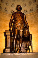 George Washington Sstatue in his Memorial near Washington DC, USA