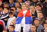 FUDBAL, BEOGRAD, 5. Jun 2010. - Navijac. Prijateljska utakmica izmedju Srbije i Kameruna odigrana u okviru priprema za Svetsko prvenstvo u Juznoj Africi. Foto: Nenad Negovanovic