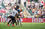 Fiji  vs England during the HSBC Sevens Wold Series Cup Quarter Finals match as part of the Cathay Pacific / HSBC Hong Kong Sevens at the Hong Kong Stadium on 29 March 2015 in Hong Kong, China. Photo by Xaume Olleros / Power Sport Images