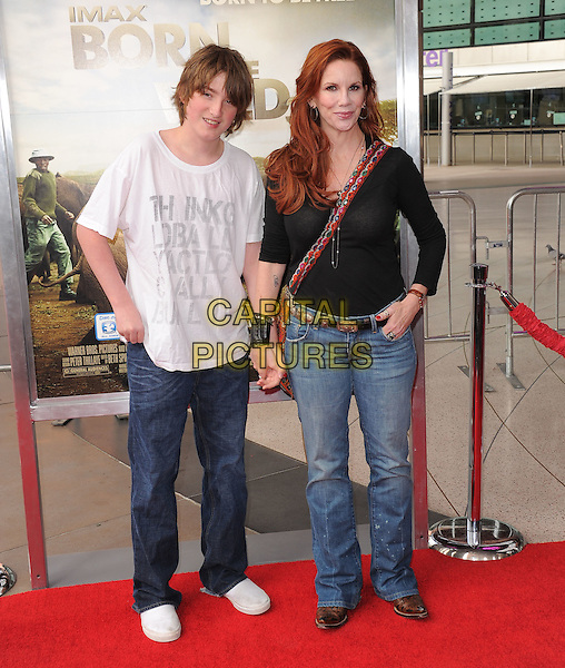 Melissa Gilbert And Sons