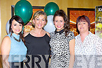 Jessica Murphy, Breda Walshe, Christina Tangney and Sheila O'Mahony on the ball at the Legion GAA social in the Killarney Avenue hotel Sunday night