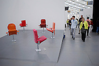 The Art fair Frieze,  opens Friday on Randalls Island with more than 190 galleries in New York City, USA. 09th May 2014.  in New York. Kena Betancur/VIEWpress