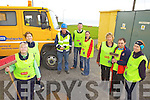 CLEANING UP: Members of Ballybunion Tidy Towns who have joined forces with the ESB locally to clear up a number of sub-stations in the town, l-r: Marianne Briscoe, Helen Cox, Tom O'Brien (ESB), John Hannon, Anne Maria McEnery, Eileen Brennan, Matthew Flavin, Marcella Field.