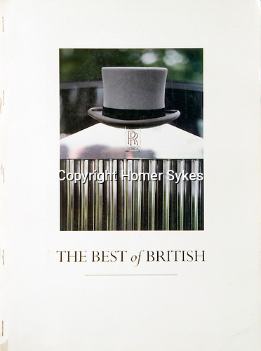 THE BEST OF BRITISH. Published by the &quot;Menswear Association of Britain to promote British menswear throughout the world&quot;, in the 1980s.  24 pages 13.5 x 9.5 inches. Staple bound, originally bound into a variety of fashion magazines. These copies were the 'run on', and were bound especially for me.<br />