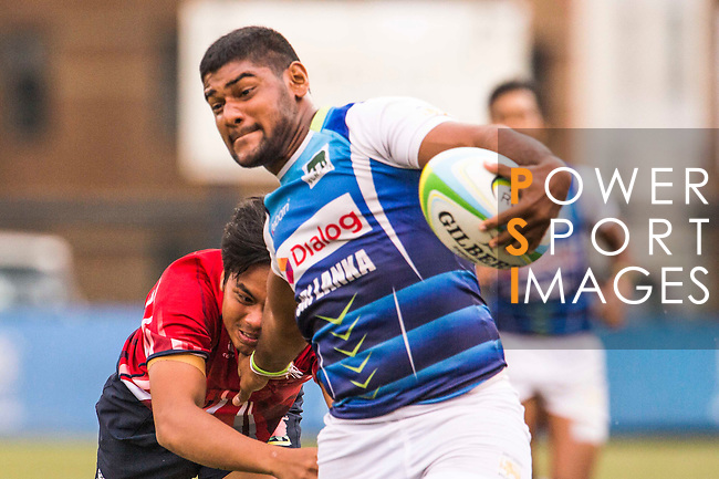 The match between Sri Lanka and Malaysia of the Asia Rugby U20 Sevens Series 2016 on 12 August 2016 at the King's Park, in Hong Kong, China. Photo by Marcio Machado / Power Sport Images