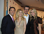 Real New York Housewives of New York Aviva Drescher (R) & husband Reid (L) & Alex McCord & Simon Van Kempen attend The 27th Annual Night of a Thousand Gowns on April 6, 2013 at The Hilton New York, NYC, NY. Attending: and many more. (Photo by Sue Coflin/Max Photos)