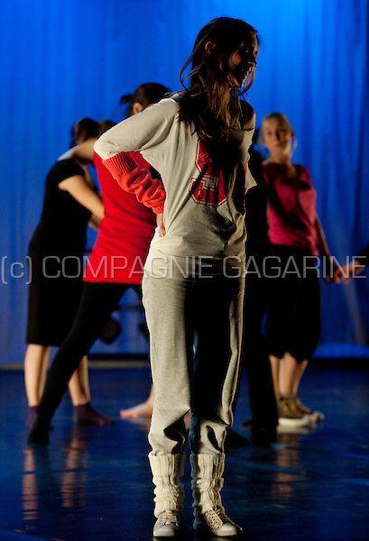 The E-motion dance production from dance company Kordante in Leuven (Belgium, 17/03/2011)