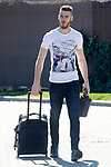 Spain's David De Gea arrives to the national football team stage. March 20,2017.(ALTERPHOTOS/Acero)