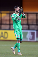 Dimitar Mitov of Cambridge United after Cambridge United vs Port Vale, Sky Bet EFL League 2 Football at the Cambs Glass Stadium on 9th February 2019