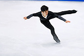 24th March 2018, Mediolanum Forum, Milan, Italy;  Nathan Chen (USA), MARCH 24, 2018 - Figure Skating : ISU World Figure Skating Championship  Men's Free Skating at Mediolanum Forum in Milan, Italy.