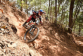 7th September 2017, Smithfield Forest, Cairns, Australia; UCI Mountain Bike World Championships; Aaron Gwinn (USA) from THE YT MOB during downhill practice