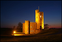 BNPS.co.uk (01202 558833)<br /> Pic:  Stags/BNPS<br /> <br /> A Gothic 18th century castle has appeared on the property market for an incredible £1.25m.<br /> <br /> Tawstock Castle, in Barnstaple, Devon stands proudly on a picturesque hilltop and enjoys breathtaking 360 degree views of the countryside. <br /> <br /> It is situated on a charming 8.41 acre plot, complete with its own helipad, and has fenced grounds for quiet, peaceful living.<br /> <br /> The grade II listed home was originally built as a lookout tower for the Raye Estate more than 250 years ago.