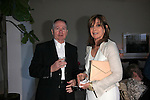 PALM SPRINGS - APR 27: John Holly, Linda Gray at a cultivation event for The Actors Fund at a private residence on April 27, 2016 in Palm Springs, California