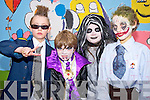 Pictured at the Lissivigeen National School, Killarney, Halloween dress up in aid of Bothar, on Friday were Oscar McCrthy, Bobby Galvin, Vanessa Galvin and Dylan Butler.