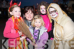 Spooky family: Enjoying the Listowel Halloween Parade last Friday evening were Emma Falvey, Denise Elbell, Chloe Elbell, Caitlin Falvey and Margaret Falvey from Ballybunion.   Copyright Kerry's Eye 2008