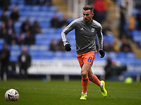 25th January 2020; Madejski Stadium, Reading, Berkshire, England; English FA Cup Football, Reading versus Cardiff City; Joe Ralls of Cardiff City warms up