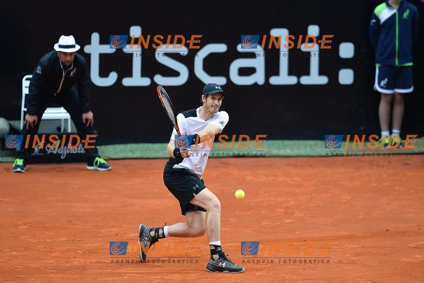 Andy Murray<br /> Roma 15-05-2016  Foro Italico<br /> Internazionali BNL d'Italia, Men Final, <br /> Tennis WTA<br /> Foto Antonietta Baldassarre / Insidefoto
