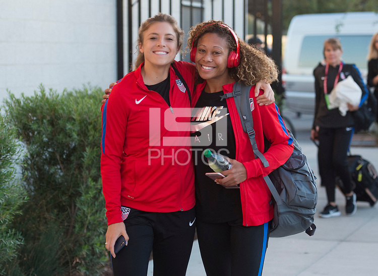 San Jose, CA - November 12, 2017: The USWNT defeated Canada 3-1 during an international friendly at Avaya Stadium.
