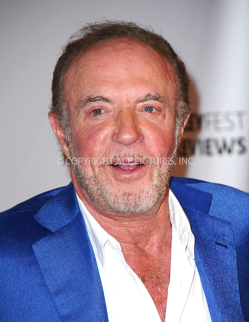 WWW.ACEPIXS.COM<br /> <br /> September 10 2013, LA<br /> <br /> Actor James Caan at the PaleyFest: ABC Fall TV Preview of 'Back In The Game' at The Paley Center for Media on September 10, 2013 in Beverly Hills, California<br /> <br /> <br /> By Line: Peter West/ACE Pictures<br /> <br /> <br /> ACE Pictures, Inc.<br /> tel: 646 769 0430<br /> Email: info@acepixs.com<br /> www.acepixs.com