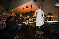 Melbourne, 17 June 2019 - Scott Pickett at the launch of Lupo Restaurant in Smith Street, Melbourne, Australia. Photo Sydey Low / Asterisk Images.