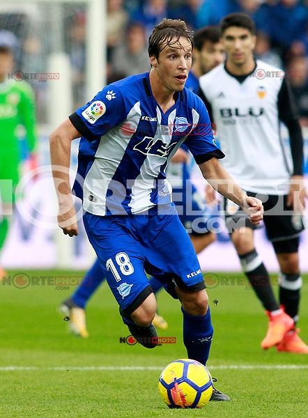 Deportivo Alaves' Tomas Pina during La Liga match. October 28,2017. (ALTERPHOTOS/Acero) /NortePhoto.com
